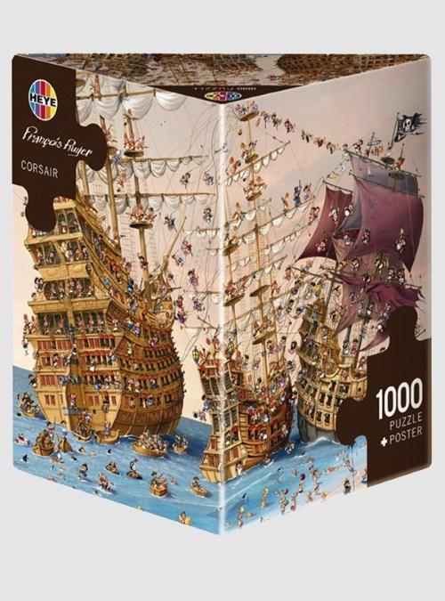 Ruyer: Κουρσάροι, 1000 τεμ., Τρίγωνο κουτί