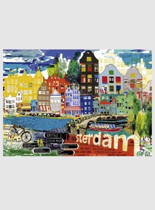 29683-City Life: Άμστερνταμ, 1000 τεμ.