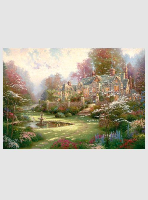 59469-Thomas Kinkade: Κήποι στο Spring Gate, 1000 τεμ.