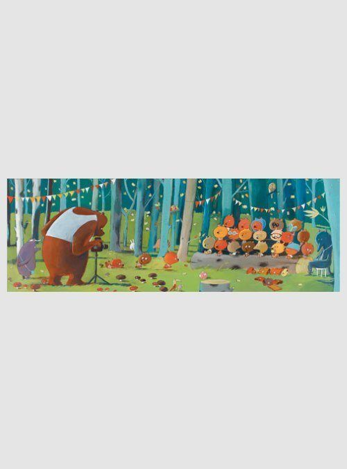 Φίλοι του Δάσους, Γκαλερί Παζλ