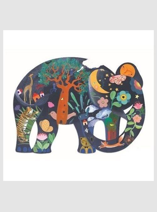 Ελέφαντας, Παζλ Τέχνης