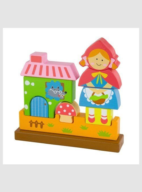 50075 Red Riding Hood, Magnetic 3D puzzle