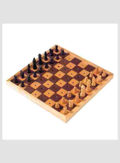 Σκάκι, Ξύλινο για άτομα με προβλήματα όρασης