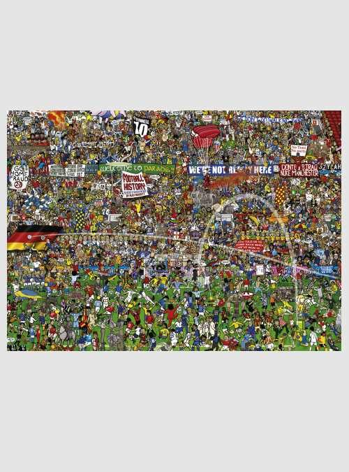 Alex Bennett: Ιστορία Ποδοσφαίρου, 3000 τεμ