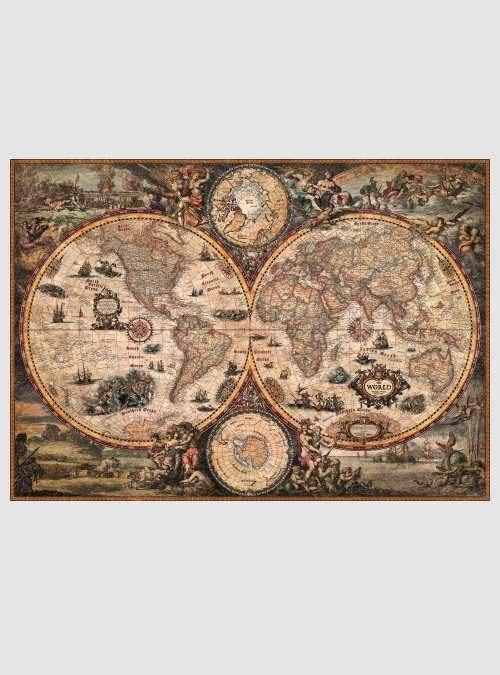 World Puzzles: Χάρτης Παλιού Κόσμου, 2000 τεμ.
