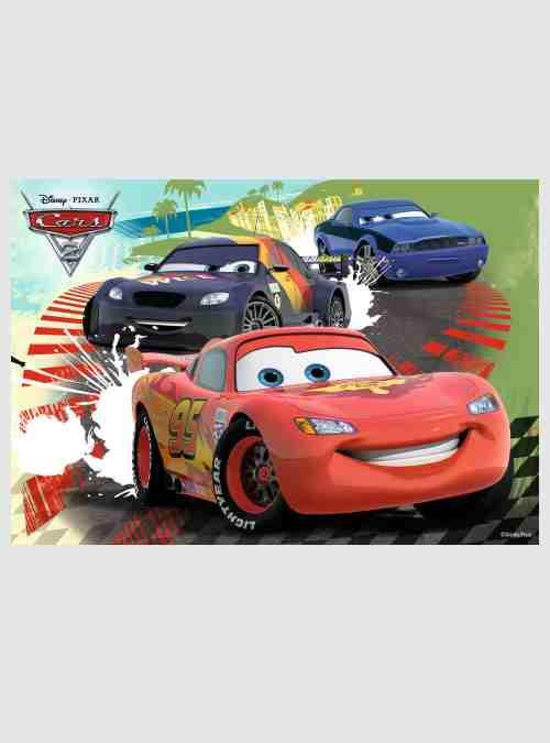 Disney Cars 2, Ειδική Έκδοση: 3 Παιδικά παζλ & Memory