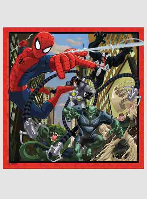 Ultimate Spider-Man, Ειδική Έκδοση: 3 Παιδικά παζλ & Memory