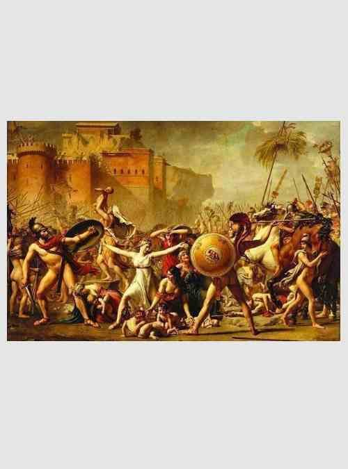 David: Η Αρπαγή των Σαβίνων, 3000 τεμ.