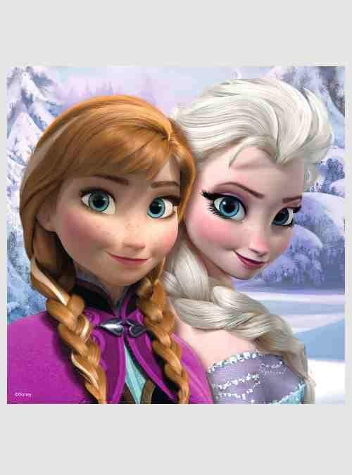 Disney Ψυχρά & Ανάποδα, Ειδική Έκδοση: 3 Παιδικά παζλ & Memory