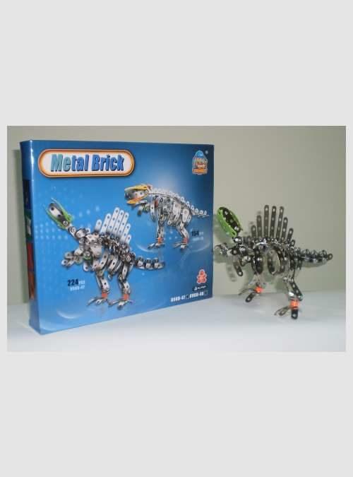 HY898B47-Dinosaur-metal-model-set