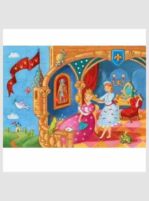 Η Πριγκίπισσα και ο βάτραχος, Σχηματικό Παζλ