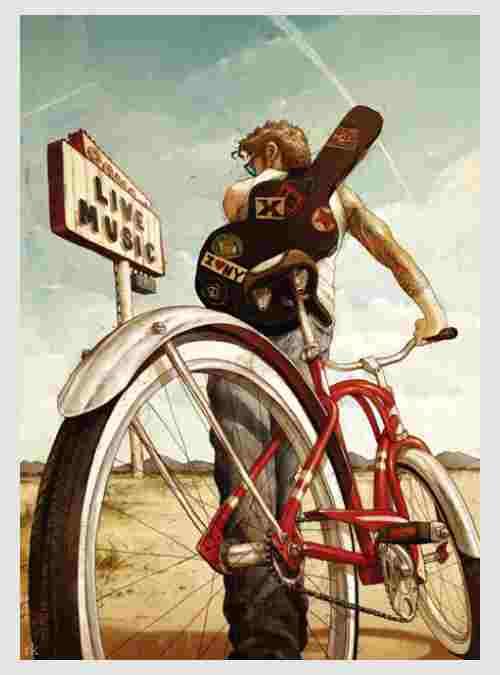 Bike Art: Μουσική Βόλτα, 1000 τεμ.