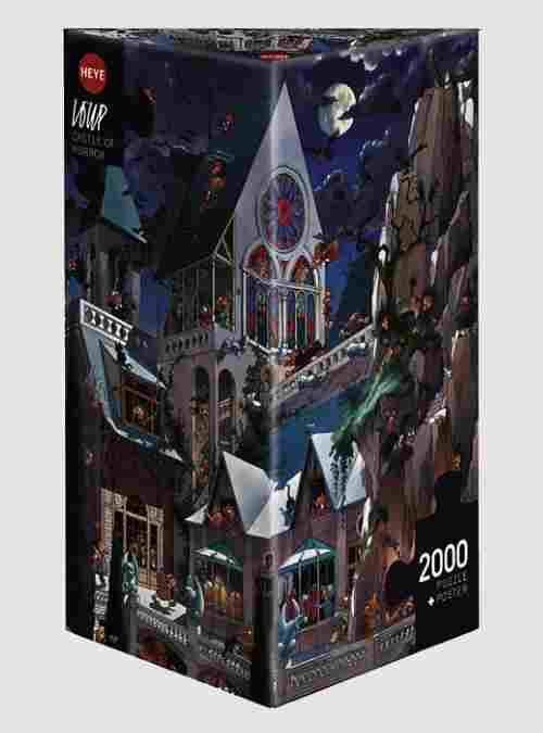 Loup: Το Κάστρο του Τρόμου, 2000 τεμ., Τρίγωνο Κουτί