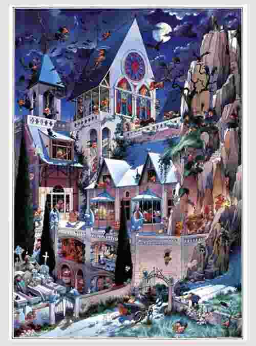 Loup: Το Κάστρο του Τρόμου, 2000 τεμ.