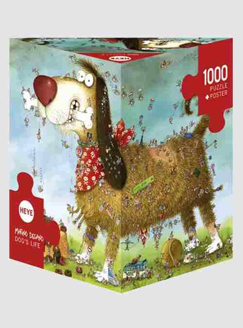 Degano: Σκυλίσια Ζωή, 1000 τεμ., Τρίγωνο Κουτί