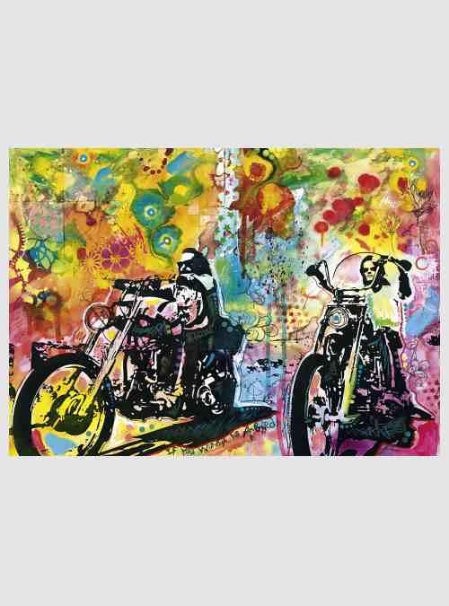 29814-Bike Art: Easy Rider, 1000 τεμ.