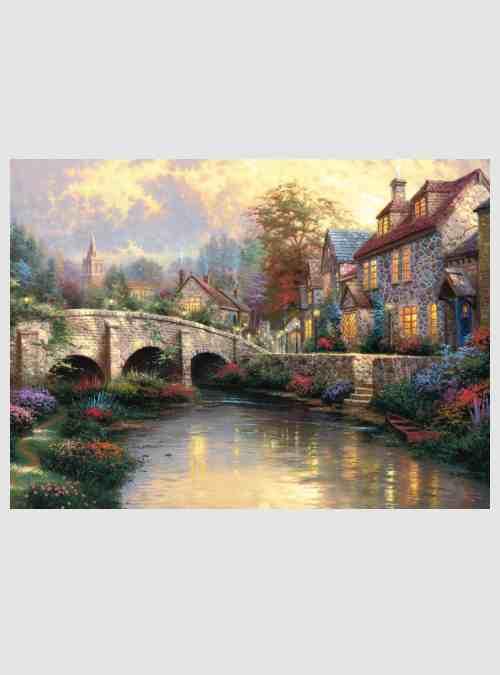 Thomas Kinkade: Πέτρινο Γεφυράκι, 1000 τεμ.