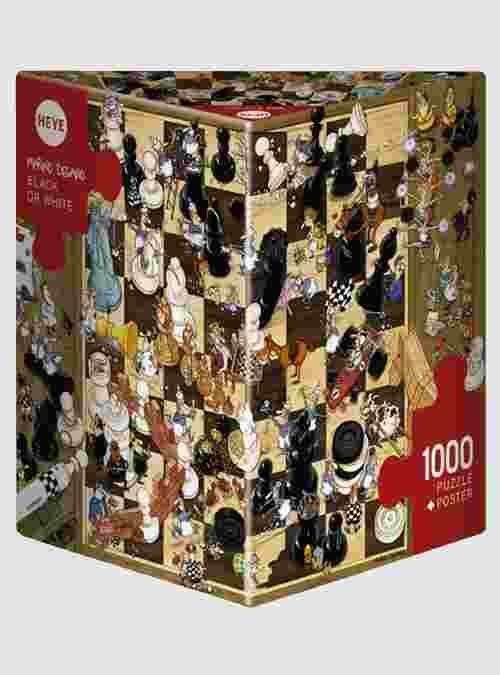 Degano: Μαύρο ή Άσπρο, 1000 τεμ., Τρίγωνο Κουτί