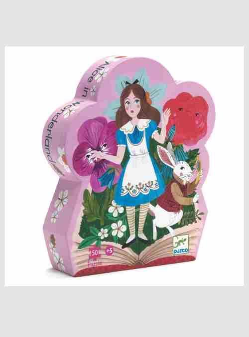 Η Αλίκη στη Χώρα των Θαυμάτων, Σχηματικό Παζλ, κουτί