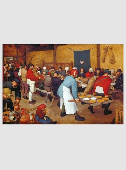 17425-brueghel-village-wedding-feast-5000pcs