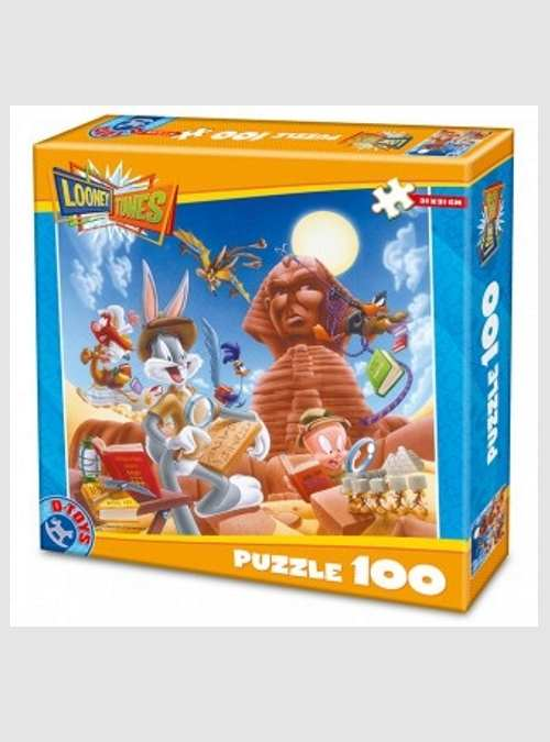 71774-d-toys-pharaoh-looney-tunes-puzzle-100pcs