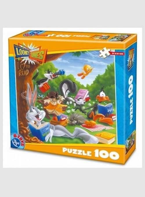 71835-d-toys-forest-looney-tunes-puzzle-100pcs