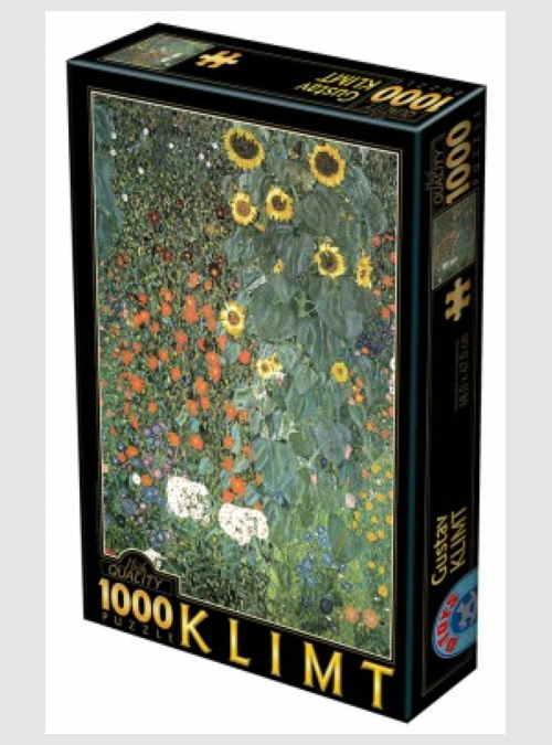 66923KL08-gustav-klimt-farm-garden-with-sunflowers-1000pcs