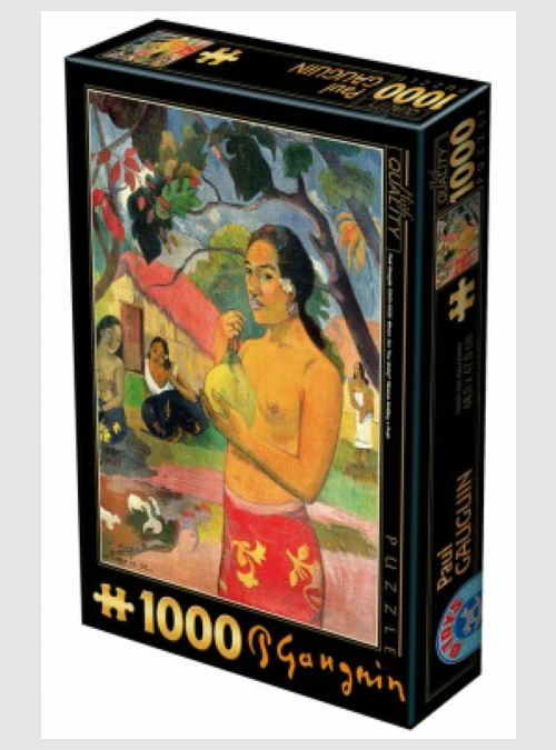 72818GA02-paul-gauguin-woman-holding-a-fruit-1000pcs