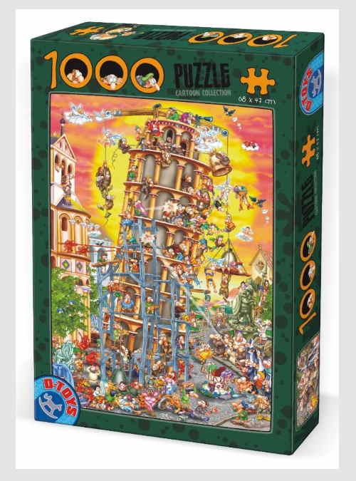 61218CC01-cartoon-collection-tower-of-pisa-1000pcs