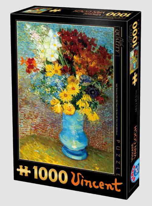66916VG02-van-gogh-flowers-in-a-blue-vase-1000pcs