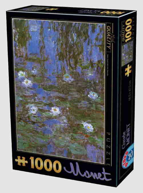 67548CM06-claude-monet-blue-water-lilies-1000pcs