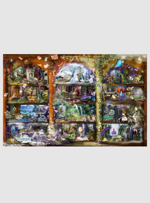 48448-Alixandra-Mullins-Enchanted-Fairytale-Library-1000pcs