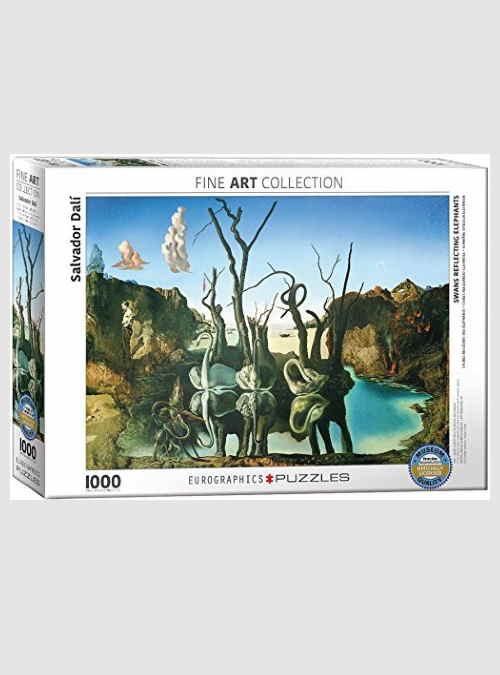 6000-0846-Salvador-Dalí-Swans-Reflecting-Elephants-1000pcs