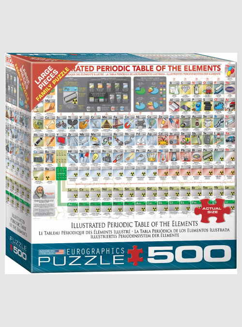 6500-5355-Illustrated Periodic-Table-of-The-Elements-XXL-pieces-500pcs