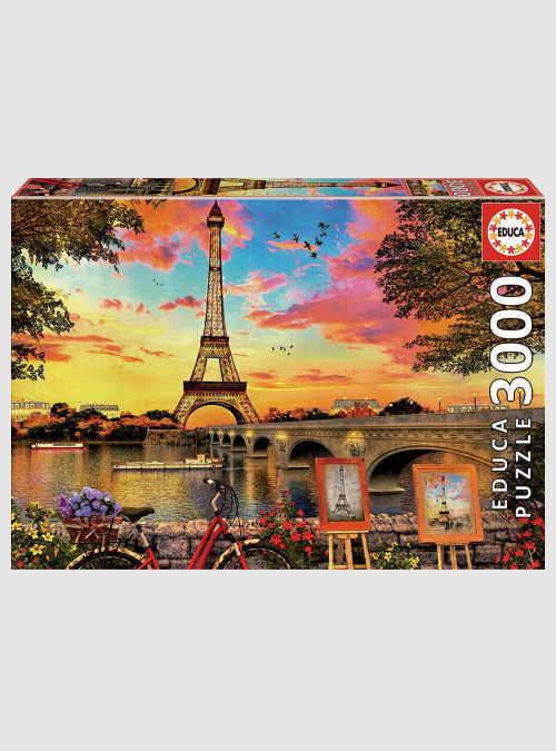17675-sunset-in-paris-3000pcs