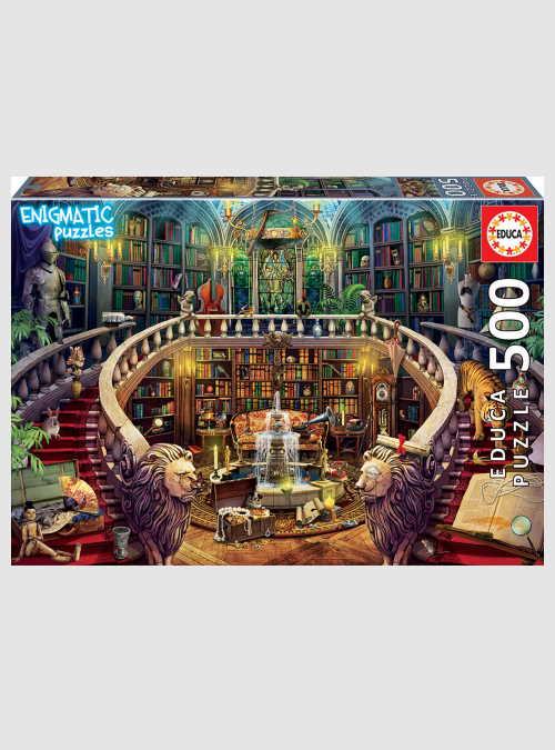 18479-enigmatic-puzzles-antique-library-500pcs
