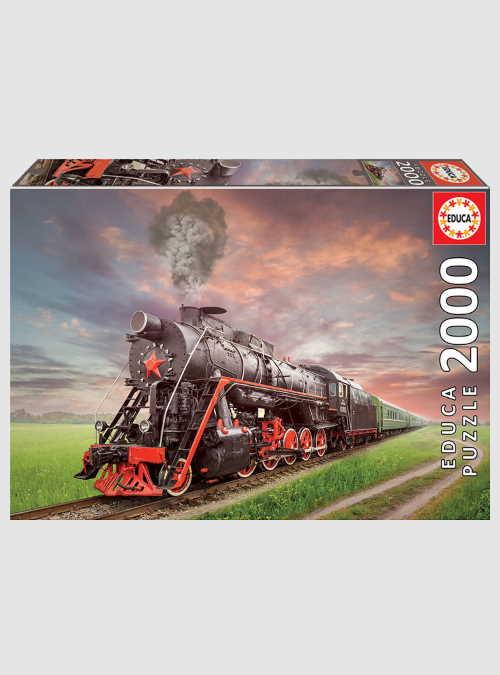 18503-steam-train-2000pcs