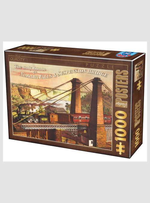 67555VP19-vintage-posters-niagara-falls-suspension-bridge-1000pcs