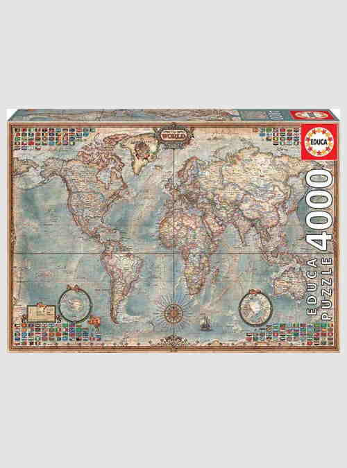 14827-political-map-of-the-world-4000pcs