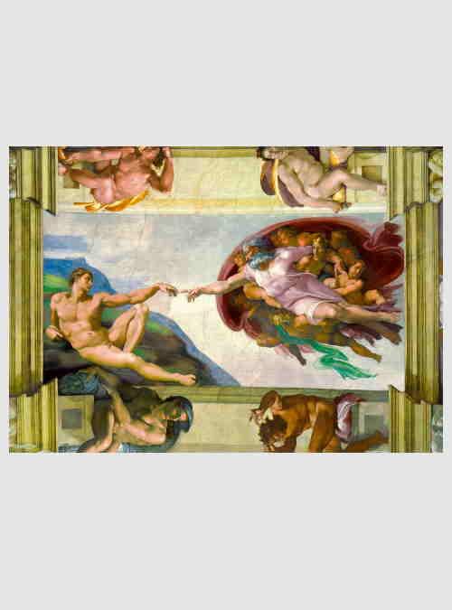 60053-Michelangelo-The-Creation-of-Adam-1000pcs