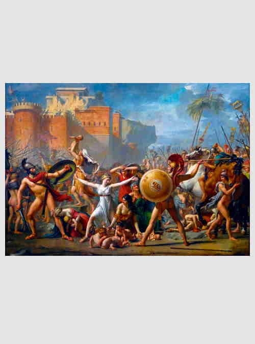 60084-Jacques-Louis-David-The-Intervention-of-the-Sabine-Women-1000pcs