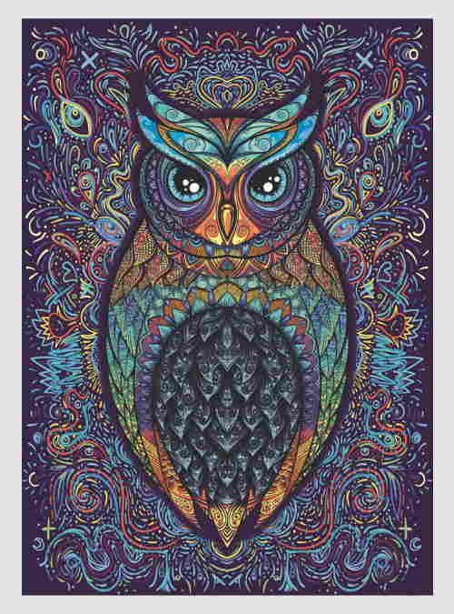 51407-owl-XL-pcs-500pcs