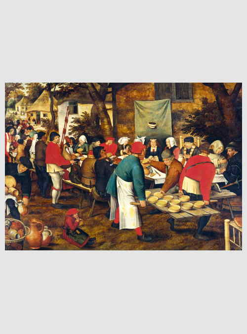 60025-pieter-Brueghel-the-younger-peasant-wedding-feast-1000pcs