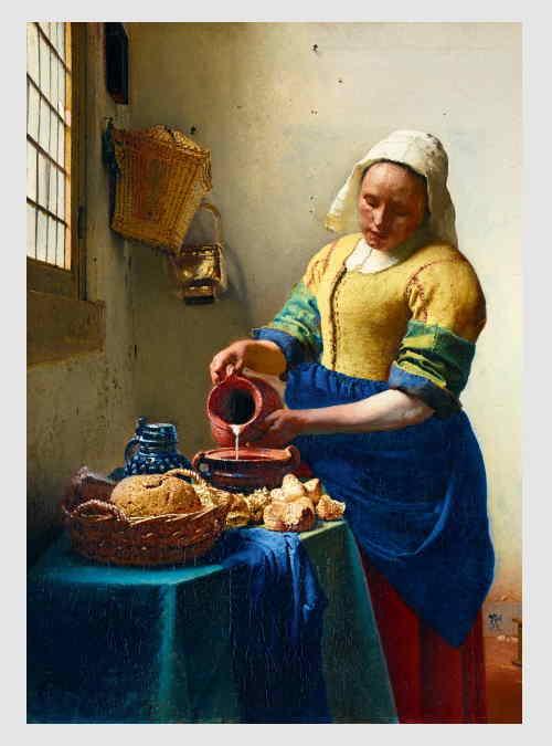 60066-johannes-Vermeer-the-Milkmaid-1000pcs