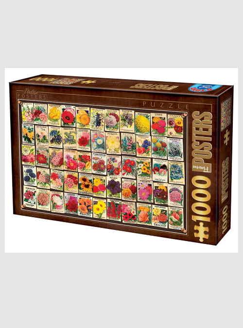 74362VC03-vintage-collage-flowers-posters-1000pcs