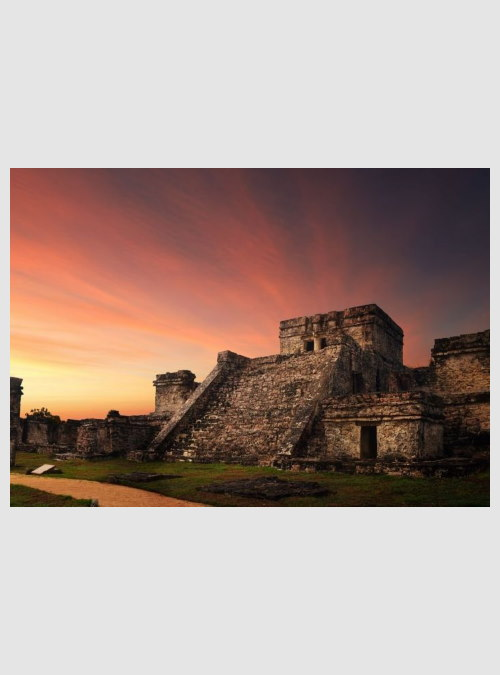 231384-sunset-in-the-ancient-Mayan-city-Mexico-1000pcs