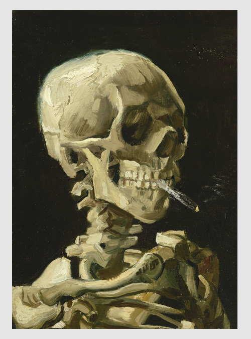 60134-Vincent-Van-Gogh-Head-of-a-Skeleton-with-a-Burning-Cigarette-1000pcs